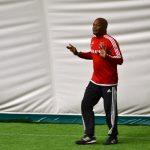 Ajax football Camp 2015. Renaldo speaking 3