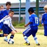 Футбольный лагерь в Эстонии летом 2014