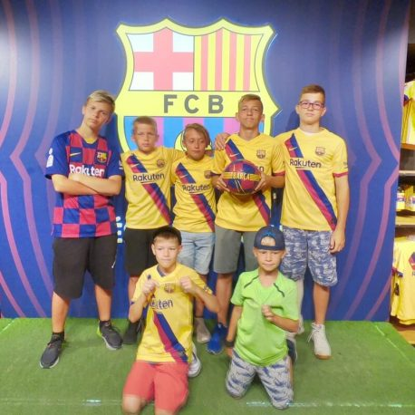 photo football camp fun shop