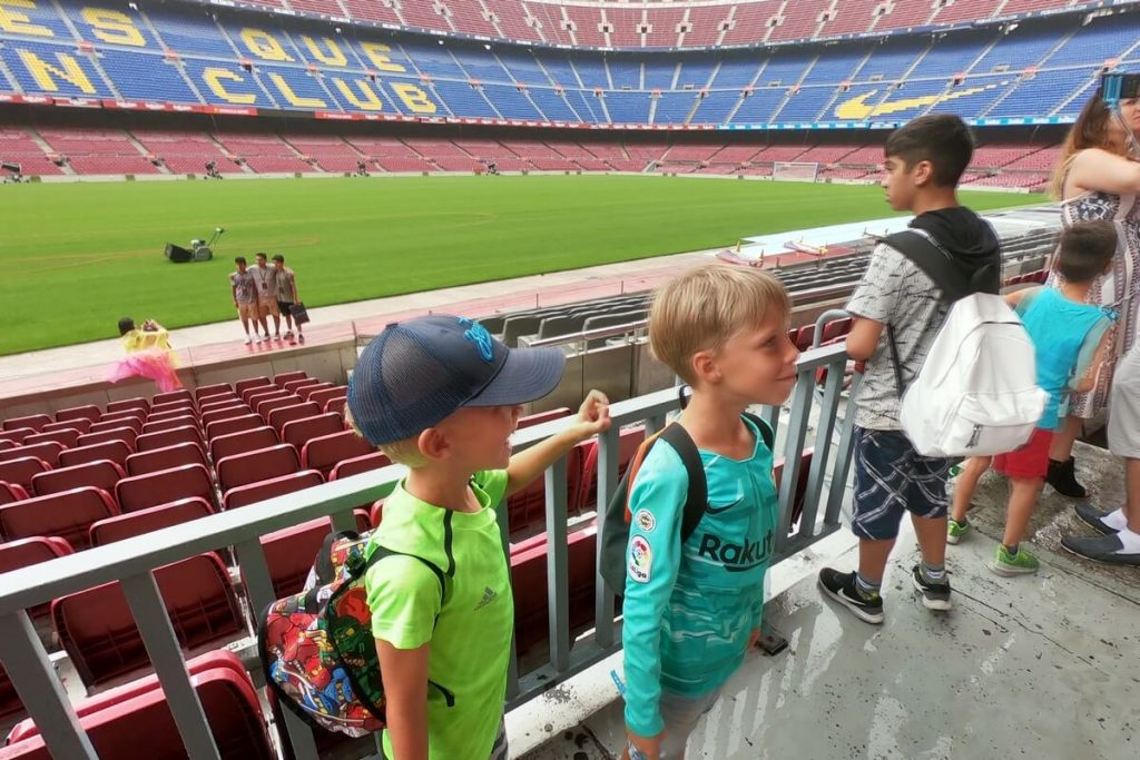 photo football camp Camp Nou
