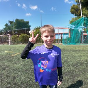 photo Zakhar in Greece camp