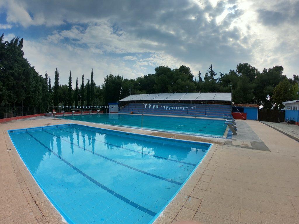 фото бассейнов в греческом футбольном лагере