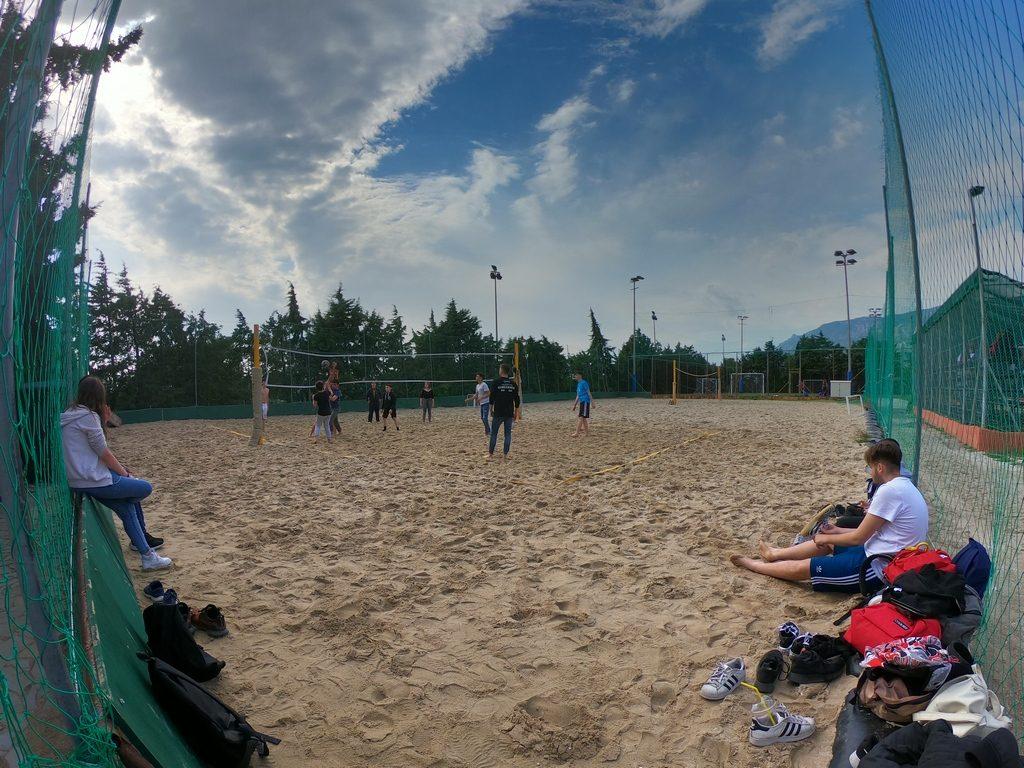 фото площадки для волейбола