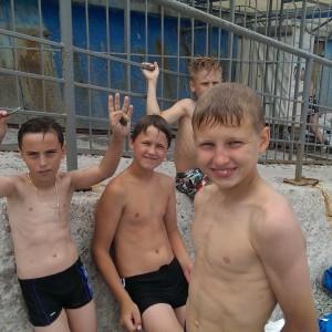 Детский футбольный лагерь в Крыму фото с пляжа