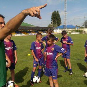 План тренировки. Лагерь по футболу с тренерами из Барселоны