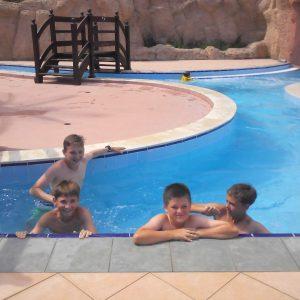 Алушта. Аквапарк в футбольном лагере Планета Спорта