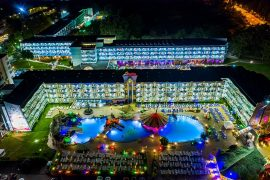 photo night hotel Kotva