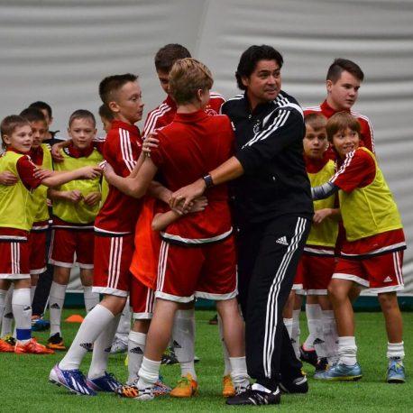 Sonny at the Ajax Football Camp 2015