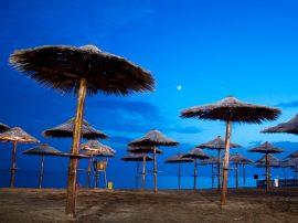 blue sea photo